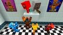 Желейный Мишка И Гренни Против Фредди и Чика, Фокси, Бонни В Майнкрафт ~ Мультик Minecraft Мишка Нуб