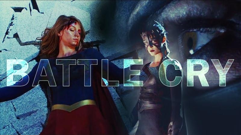 Supergirl vs Reign BattleCry {3x09}