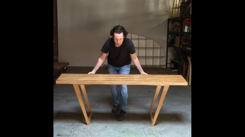 """Dual-height """"Insect Table"""" by Godar Furniture"""