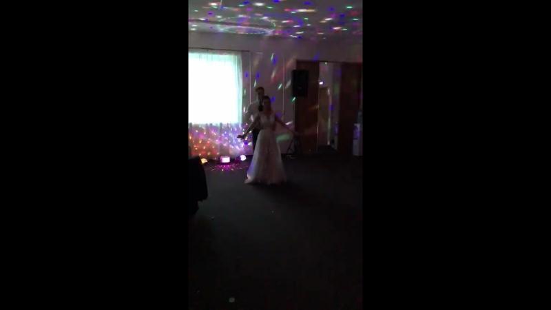 Свадебный танец Андрей и Катя Поляковы