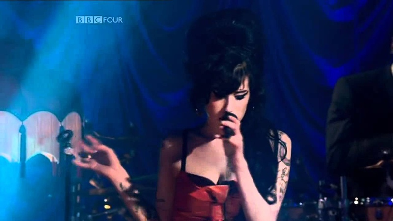 Amy Winehouse- Back to black BBC live