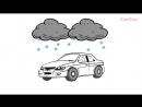 Дудл видео с элементами анимации автоковрики