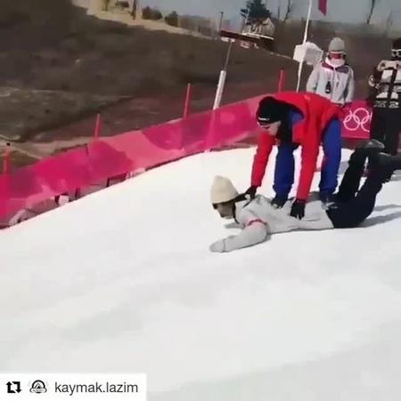 Нет сноуборда, но есть хорошие друзья!