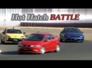 Best Motoring Civic Type R FN2 vs. Scirocco R vs. Megane RS BMIRussian