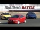 Best Motoring Civic Type R FN2 vs. Scirocco R vs. Megane RS [BMIRussian]