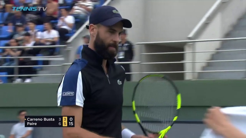 Hot Shot: Lob Perfection From Paire