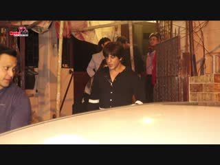 Shahrukh Khan पहुँचे Bandra के Dubbing स्टूडियो - ZERO