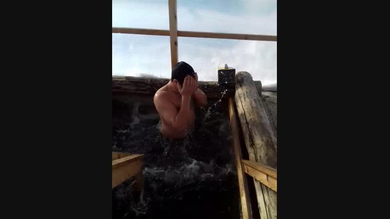 Купание в купель храм Михайло Архангельский.2019