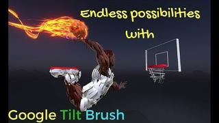 Google Tilt Brush: Paint in Virtual Reality trailer for HTC Vive