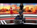 I gave her a ride on LIVE TV!