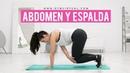 Reducir grasa espalda baja | Rutina intensa de fuerza y cardio