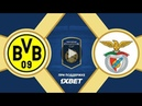 26 07 2018 Borussia D 2 2 3 4 Benfica