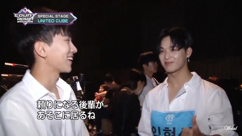 BACKSTAGE 01 07 2018 Ынкван и Хёншик @ M Countdown