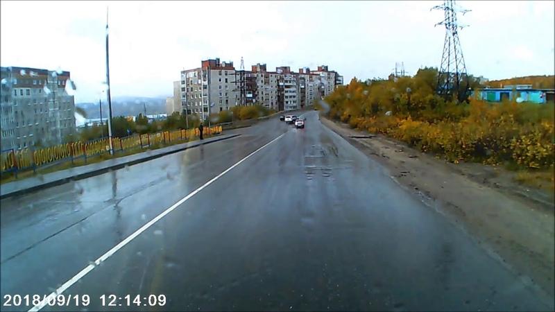 ДТП с автомобилем главы администрации Мурманска
