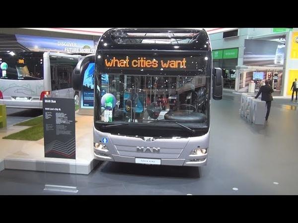 MAN Lion's City GL Bus Exterior and Interior