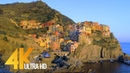 Fabulous Italy: Cinque Terre in 4K   Town Life Documentary Film. Part 4