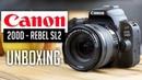Canon EOS 200D (Rebel SL2) DSLR Digital Camera with EF-S 18-55mm STM Lens Unboxing