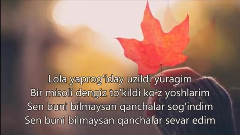 Maxsuma - Mendan Ketib _Lyrics_, Qo'shiq Matni Bilan.mp4
