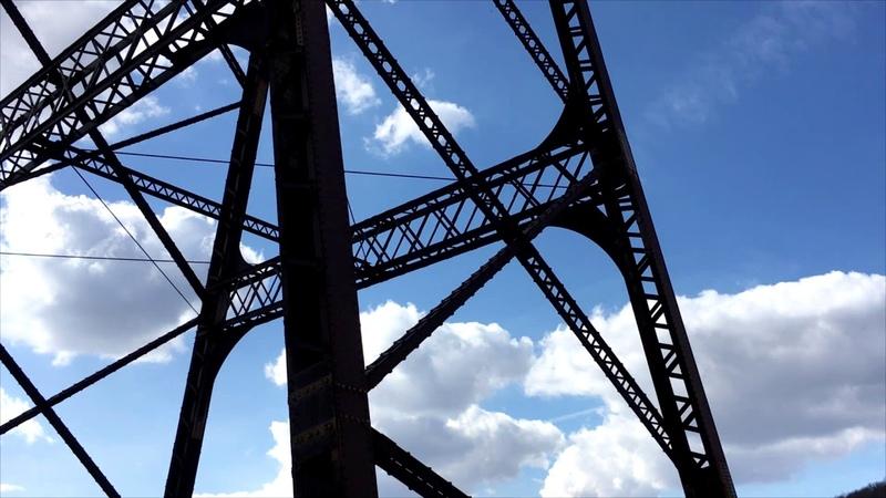 США. Тропа Мост Кинзуа. Kinzua Bridge Trail