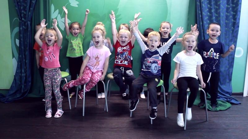 Группа дошкольников