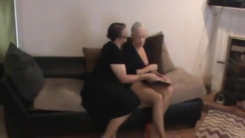 The Milf Dominates another Cougar.......Sexy and Hot