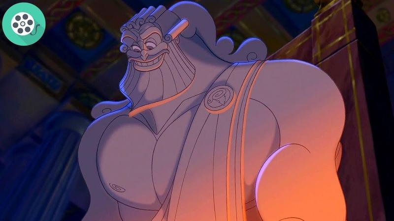 Геркулес отправляется в храм Зевса чтобы узнать правду о своем рождении Геркулес 1997 год