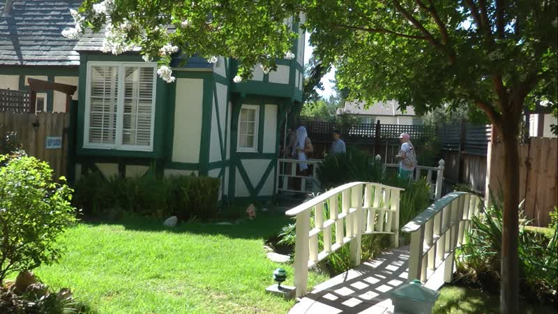 Отель Wine Valley Inn Cottages в Солванге (Калифорния), коттедж №2