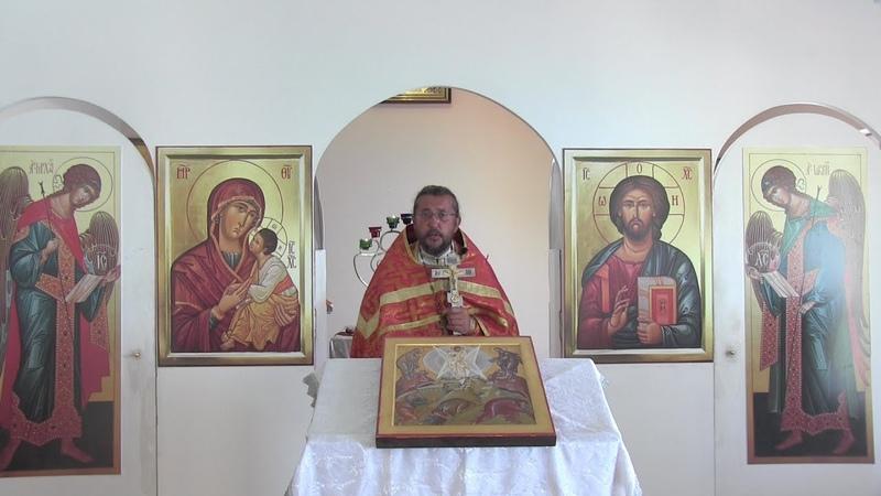 Проповедь в день памяти Бессребреников Космы и Дамиана Священник Игорь Сильченков