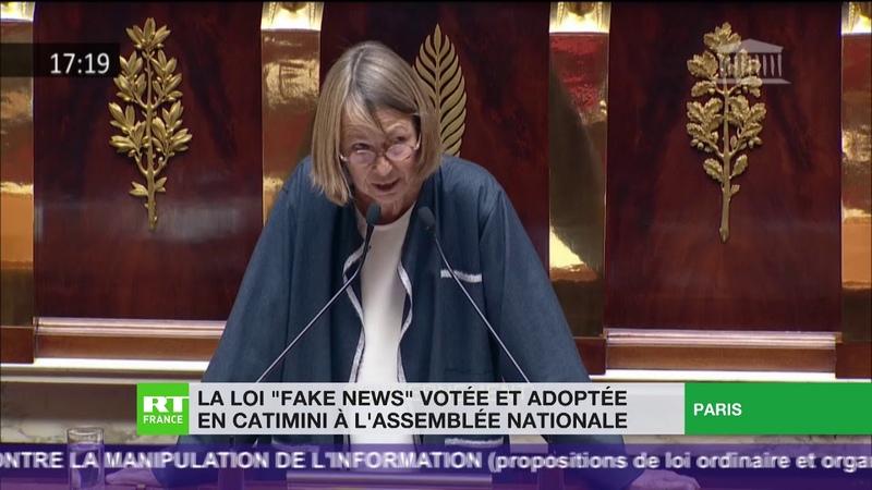 La loi Fake news votée en catimini à l'assemblée nationale