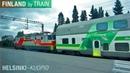 Helsinki Kuopio by VR Train HD Video Finland by Train