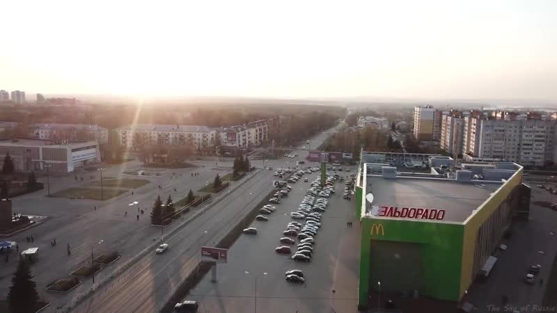 Кстово вид сверху Алексей Бровкин Монтаж: Дмитрий Никифоров