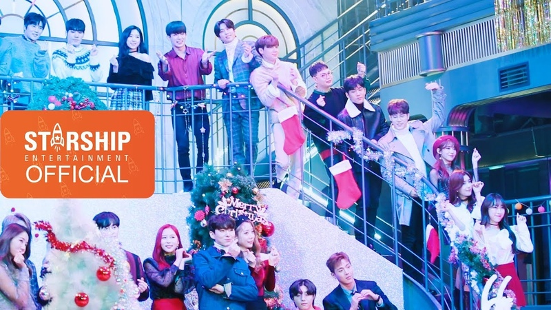 [Видео][15.01.19] Мэйкинг клипа 스타쉽 플래닛 (Starship Planet) 2018 - '벌써 크리스마스 (Christmas Time)' вместе с Boyfriend