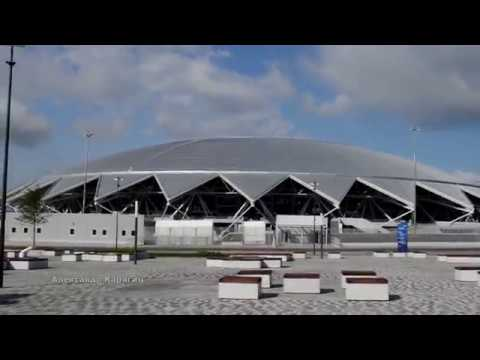Фото территории стадиона Самара Арена 14 июня 2018 г Samara Russia