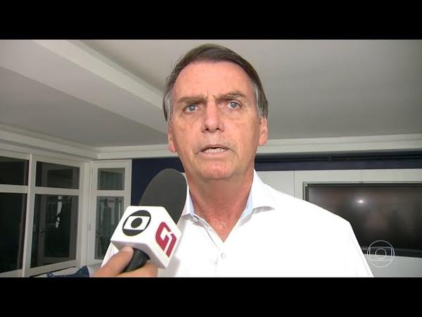 Durante entrevista à Record, Bolsonaro DENUNCIA ESQUERDISTAS por promover TERRORISMO em seu nome