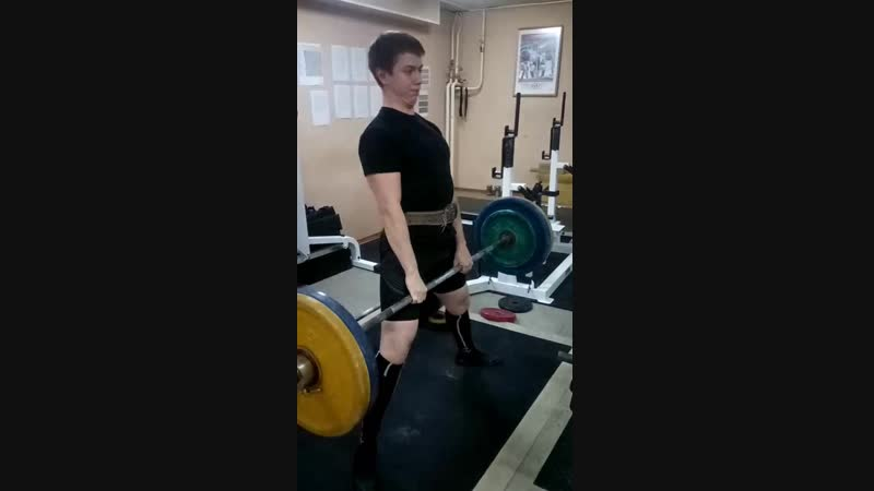 Тяга 110 кг 3х8