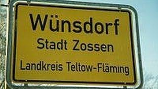 Wunsdorf Вюнсдорф уникальный клип о городке 1994 год