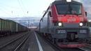 Электровоз ЭП20-035 с пассажирским поездом №742 Брянск - Москва
