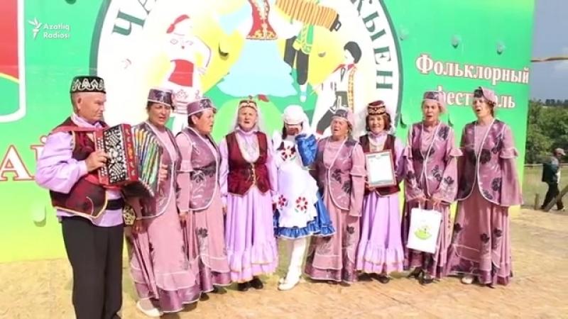 Азнакайда Чатыр тауда җыен фольклор фестивале узды