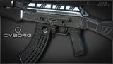 СУРОВЫЙ AK-47 CYBORG В STEAM WORKSHOP