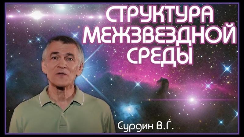 Сурдин В.Г. Структура межзвездной среды. Лекция.