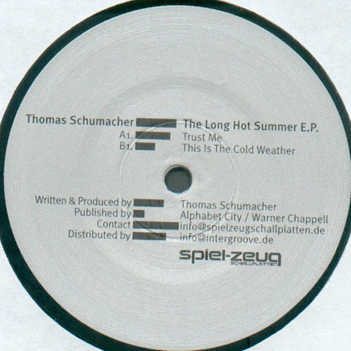 thomas schumacher альбом The Long Hot Summer EP