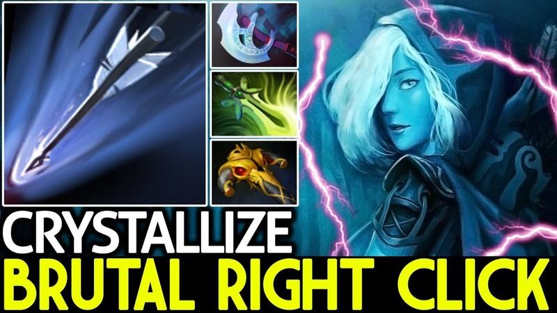 Crystallize [Drow Ranger] Brutal Right Click Monster 7.20 Dota 2