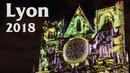 Fête des Lumières à Lyon La cathédrale Saint Jean Décembre 2018