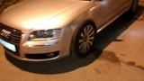 AUDI A8 L новые проставки под новые колеса