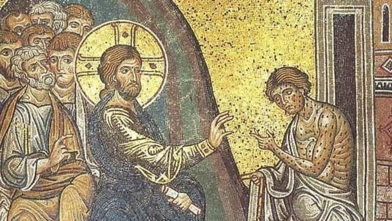 16. Евангелие от Матфея, 8:1-13. Исцеление прокаженного. Исцеление слуги сотника.