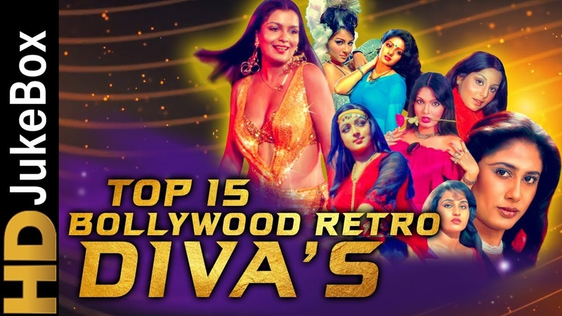 Top 15 Retro Bollywood Divas Songs | Superhit Classic Hindi Songs | Old Is Gold Songs