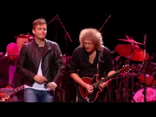 Queen & tom chaplin - it's a hard life (the prince's trust rock gala, royal albert hall, london, 17.11.2010) [hd 1080]