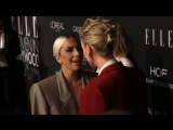 Леди Гага и Шарлиз Терон на церемонии «Women in Hollywood» в Голливуде (15.10.2018)