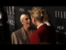 Леди Гага и Шарлиз Терон на церемонии Women in Hollywood в Голливуде 15 10 2018