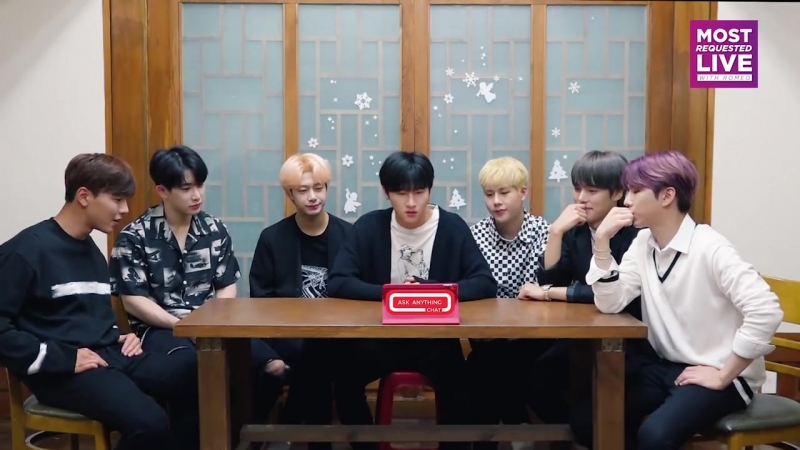 [VK][180620] MONSTA X And The Sneeze. OOPS @ AskAnythingChat